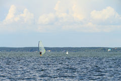Windsurfing Royalty Free Stock Photography