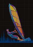 Windsurfing. Stock Photography