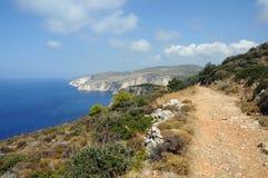 Windswept coastal ridges Stock Photography