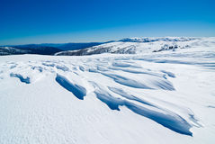 Windswept Schnee Lizenzfreie Stockfotografie