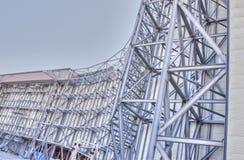 WindtunnelSuperstructure--NASA Ames Arkivfoton
