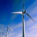 Windturbin Fotografering för Bildbyråer