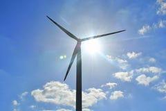 Windturbin Royaltyfri Foto