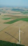 windturbine вида с воздуха Стоковое Изображение RF