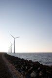 Windturbine Images libres de droits