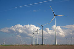 Windturbine Immagine Stock