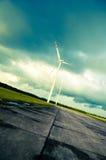 Windturbine Stockfoto