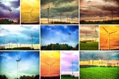Windturbine Fotografie Stock
