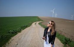 WindTurbine Στοκ Εικόνες