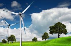 Windturbine, alternative Energie lizenzfreie stockfotos