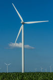 Windturbine and Blades Royalty Free Stock Image