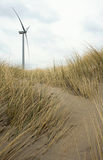 Windturbine in dunes Royalty Free Stock Image