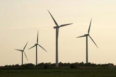 Windturbine farm.jh  Imagen de archivo libre de regalías