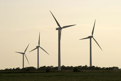 Windturbine farm.jh  Royalty Free Stock Image