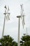 Windturbine-Grünenergie lizenzfreie stockfotografie