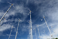 Windturbine in koh lan, pattaya, thailand Royalty Free Stock Photo