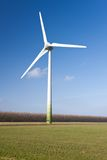Windturbine in the Netherlands Royalty Free Stock Photo