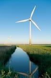 Windturbine in the Netherlands Stock Photo