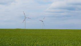 windturbine op de gebieden Stock Afbeeldingen