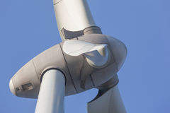 Windturbine producing alternative energy Stock Photos