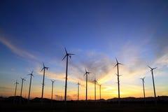Windturbine in Thailand Lizenzfreie Stockfotos