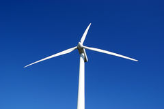 Windturbine, tilted view Royalty Free Stock Photos