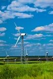 Windturbinen Stockfoto