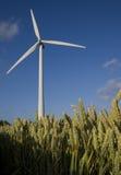 Windturbinen stockbild