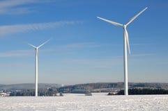 Windturbinen Lizenzfreie Stockbilder