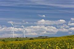 Windturbinen Stockfotos