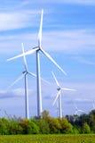 Windturbinen Stockfotografie