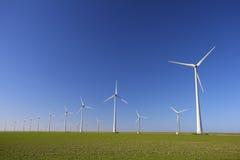 Windturbinen in Holland Lizenzfreies Stockbild