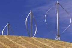 Windturbiner Royaltyfria Foton