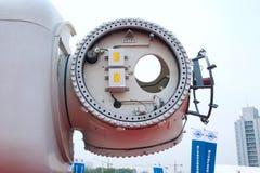 Windturbiner Arkivfoton