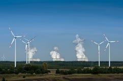 Windturbiner Royaltyfri Foto