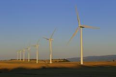 windturbines Стоковые Фотографии RF