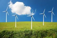 windturbines Стоковая Фотография RF