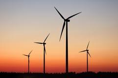 Free Windturbines Royalty Free Stock Photo - 2464705
