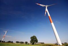 Windturbines Royalty Free Stock Image