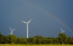 Windturbines Royaltyfri Bild
