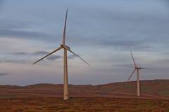Windturbines Stock Afbeelding