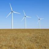 Windturbines Royalty-vrije Stock Foto's