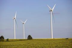 Windturbines Стоковые Изображения