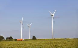 Windturbines Стоковое Изображение