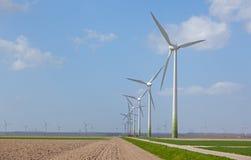 Windturbines Royalty Free Stock Photo
