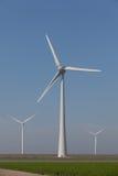Windturbines, alternative Energie produzierend stockbild