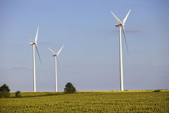 Windturbines Stock Images