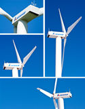 Windturbines - Seewind Stock Image