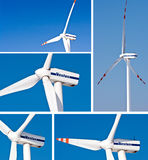 Windturbines - Vestas royalty free stock photography