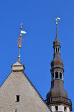 Windvane in old Tallinn Royalty Free Stock Photo